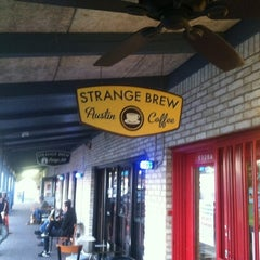 Photo taken at Strange Brew Austin Coffee by Dan F. on 2/15/2013