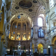 Photo taken at St. Francis Xavier Catholic Church by Ross D. on 5/16/2013