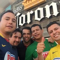 Photo taken at Territorio Santos Modelo Estadio by Iván G. on 8/15/2015