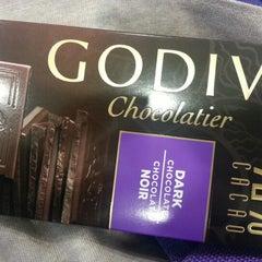 Photo taken at Godiva Chocolatier by redsmile on 11/6/2012