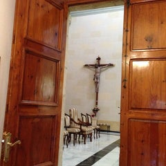Photo taken at Parroquia de San Vicente Ferrer by Jose Joaquin O. on 2/22/2014
