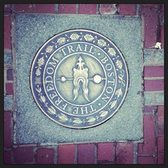 Photo taken at The Freedom Trail by Justin G. on 4/5/2013