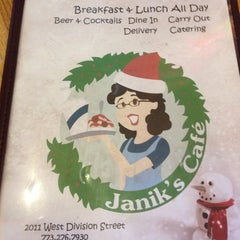 Photo taken at Janik's Cafe by Jennie R. on 2/17/2013