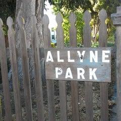 Photo taken at Allyne Park by David M. on 6/22/2013