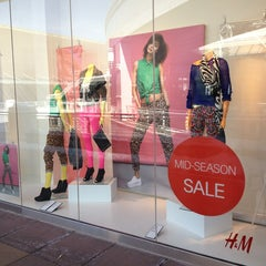Photo taken at H&M by Katie Jane on 3/8/2013