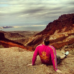 Photo taken at Lake Mead Overlook by Justin B. on 12/17/2012