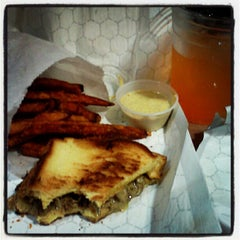Photo taken at MLT Cheese Steaks and Grilled Cheese. by Justin B. on 10/21/2012