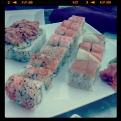Photo taken at Sushi Love by Justin B. on 9/13/2012