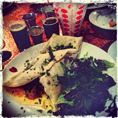 Photo taken at Brugge Brasserie by Amanda S. on 3/15/2013