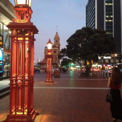 Photo taken at Auckland by Anouk M. on 1/25/2016