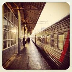 Photo taken at Курский вокзал / Kursky Rail Terminal by Artem P. on 5/23/2013