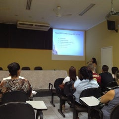 Photo taken at Faculdade Pio XII by Marcos T. on 3/20/2013