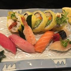 Photo taken at Sushiya by Alex E. on 5/13/2016