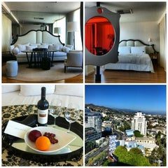 Photo taken at Mondrian Hotel by Africa H. on 4/8/2013