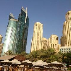 Photo taken at Hilton Dubai Jumeirah Resort by Mikai M. on 6/7/2013