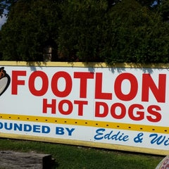 Photo taken at Eddie's Footlong Hotdogs by Todd S. on 8/19/2014