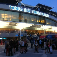 Photo taken at Amalie Arena by Michael M. on 4/20/2013
