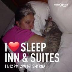 Photo taken at Sleep Inn & Suites by Osama B. on 5/10/2014