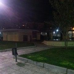 Photo taken at Parque del Huecar by Alberto on 3/21/2013