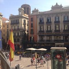 Photo taken at Hostal Mare Nostrum Barcelona by Taha S. on 6/8/2014