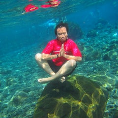 Photo taken at Umbul Ponggok by mohammad arief k. on 7/19/2015