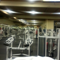 Photo taken at 24 Hour Fitness by Khamphou P. on 3/8/2013
