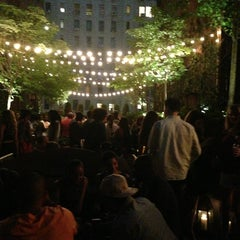 Photo taken at Hudson Hotel by Sanyla C. on 6/9/2013