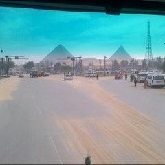 Photo taken at Le Méridien Pyramids Hotel & Spa by Nazim K. on 2/25/2013