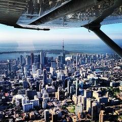 Photo taken at Billy Bishop Toronto City Airport (YTZ) by Jo F. on 7/14/2013