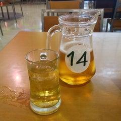 Photo taken at ลานเบียร์ บิ๊กซี ดอนจั่น   Beer Garden at Big C by Jene N. on 7/28/2014