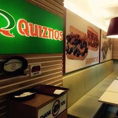 Photo taken at Quiznos by Sayaka W. on 12/31/2014