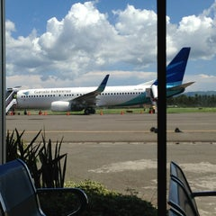 Photo taken at Bandara Jalaluddin (GTO) by Andee Y. on 4/3/2013