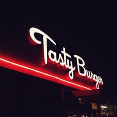 Photo taken at Tasty Burger by Matt K. on 7/4/2013