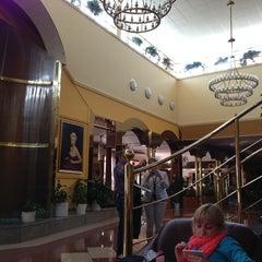 Photo taken at Top Hotel Praha by Игорь М. on 4/24/2013