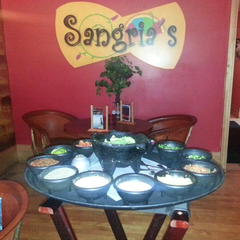Photo taken at Sangria's Mexican Grill by Casey B. on 9/9/2013