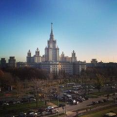 Photo taken at Шуваловский корпус МГУ by Олег О. on 10/22/2013
