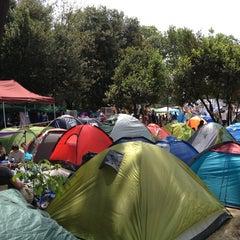 Photo taken at Taksim Gezi Parkı by Köksal Y. on 6/8/2013