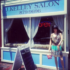 Photo taken at J. Kelley Salon by J. Kelley Salon on 11/8/2013