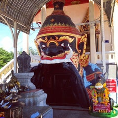 Photo taken at วัดช่องแสมสาร by PUGPIG A. on 8/20/2015