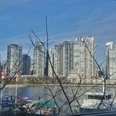 Photo taken at Granville Island Hotel by Leo C. on 1/20/2015