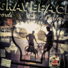 Photo taken at Graveface Records & Curiosities by Neil on 10/14/2012
