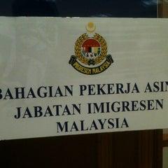 Photo taken at Jabatan Imigresen Malaysia by wan saiFz on 9/20/2012