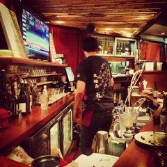 Photo taken at Sake Bar Hagi by Gerald S. on 5/10/2013
