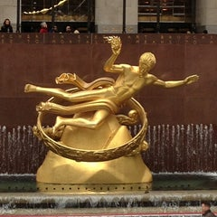 Photo taken at 30 Rockefeller Plaza by Ekaterina L. on 3/17/2013