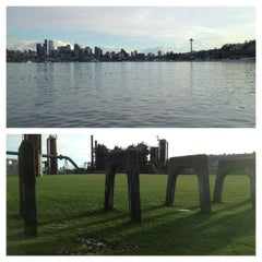 Photo taken at Gas Works Park by Mollz on 3/8/2013