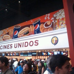 Photo taken at Cines Unidos by Osmar R. on 6/29/2013