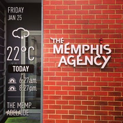 Photo taken at The Memphis Agency by Brenton C. on 1/25/2013