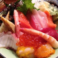 Photo taken at Moshi Moshi Sushi by Kristina G. on 2/19/2013
