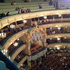 Photo taken at Мариинский театр / Mariinsky Theatre by Евгений К. on 5/23/2013