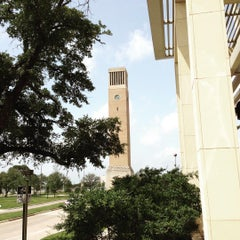 Photo taken at Albritton Bell Tower by Gaylan W. on 7/3/2015